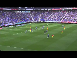 Digital Billboard Replacement - sample - Alpari MD 37 - Espanyol vs Barcelona