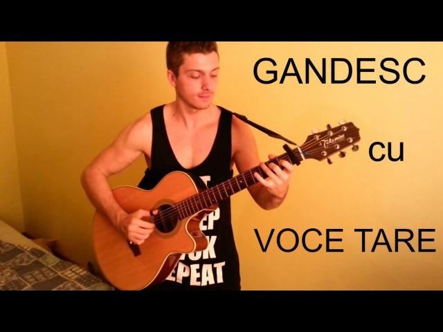 Matteo - Gandesc cu voce tare ( Cover Chitara Fingerstyle ) - Nicolaevici Bogdan