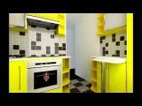 Дизайн маленьких кухонь,5 кв.м-Design of little kitchens, 5 sq.m