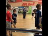 А у Мити сегодня первое занятие по футболу в этом году⚽️😊 Все дети при деле, ну прям горжусь собой😄😄😄