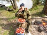 Подводная охота на. раков р.Сейм (Курская область) 2013год