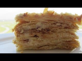 Торт Наполеон Bánh kem Napoleon BÁNH NGÀN LỚP Chính hiệu Hướng dẫn làm Bánh Gato bánh kem cơ bản