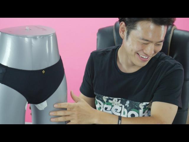 Korean Guys Meet Tampons