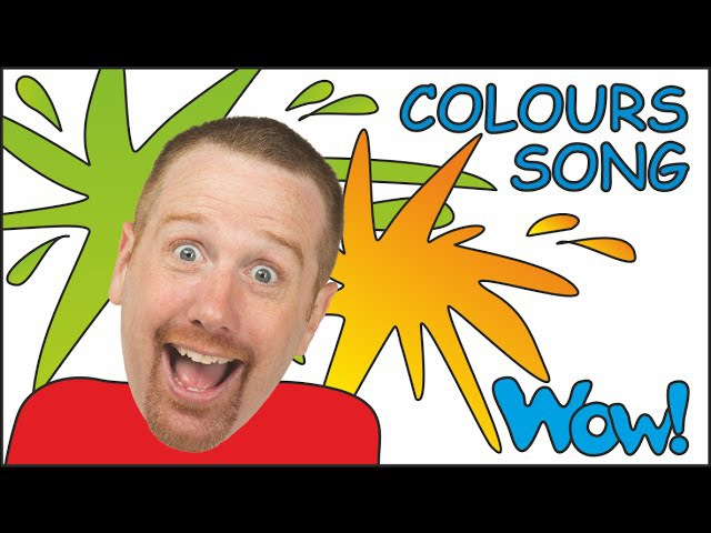 Colours song from Steve | Color Song for Children