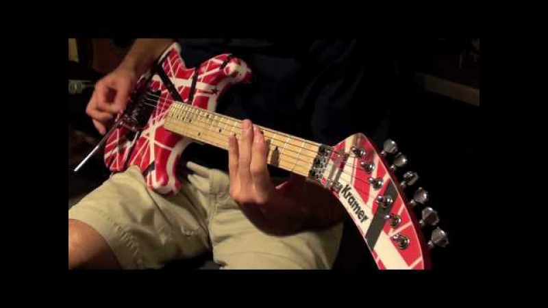 'Panama' Van Halen cover w backing track