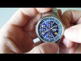 Обзор часов Casio EDIFICE EF-316D-2AVEF (Review)