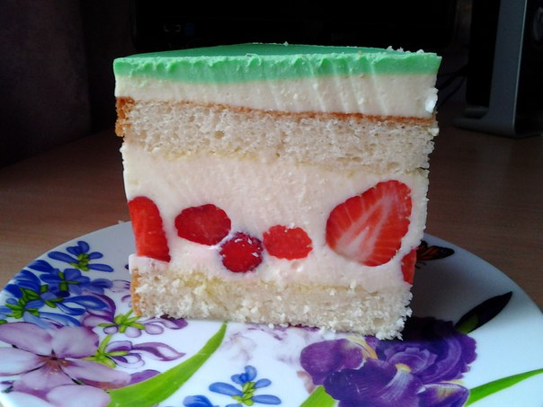 Торт Клубничная Мечта