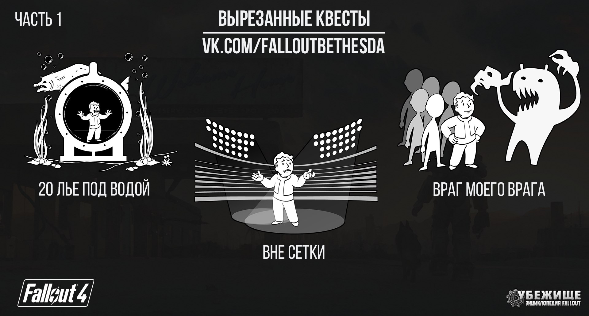 Вырезанный контент  Fallout 4 Часть 1
