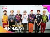 160914 쇼챔피언 NCT 127 200회 축하메시지