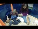 Зверское нападение кроликов на детей