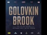12 дней до боя Головкин - Брук.