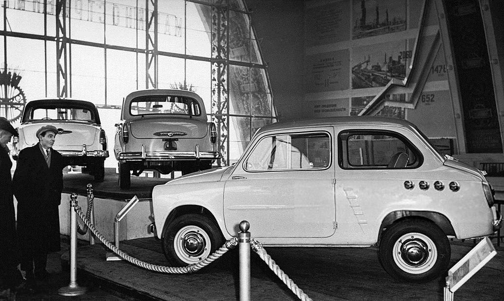 Автолегенды СССР №17 ЗАЗ-965А фото модели, обсуждение
