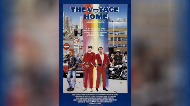 Звездный путь 4 Дорога домой (1986)   Star Trek IV: The Voyage Home