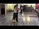 Танго-лаборатория 1.08.2016 - Связка Константина и Юлии (Михаил Чудин - Эльвира Кашкарова, урок аргентинское танго)
