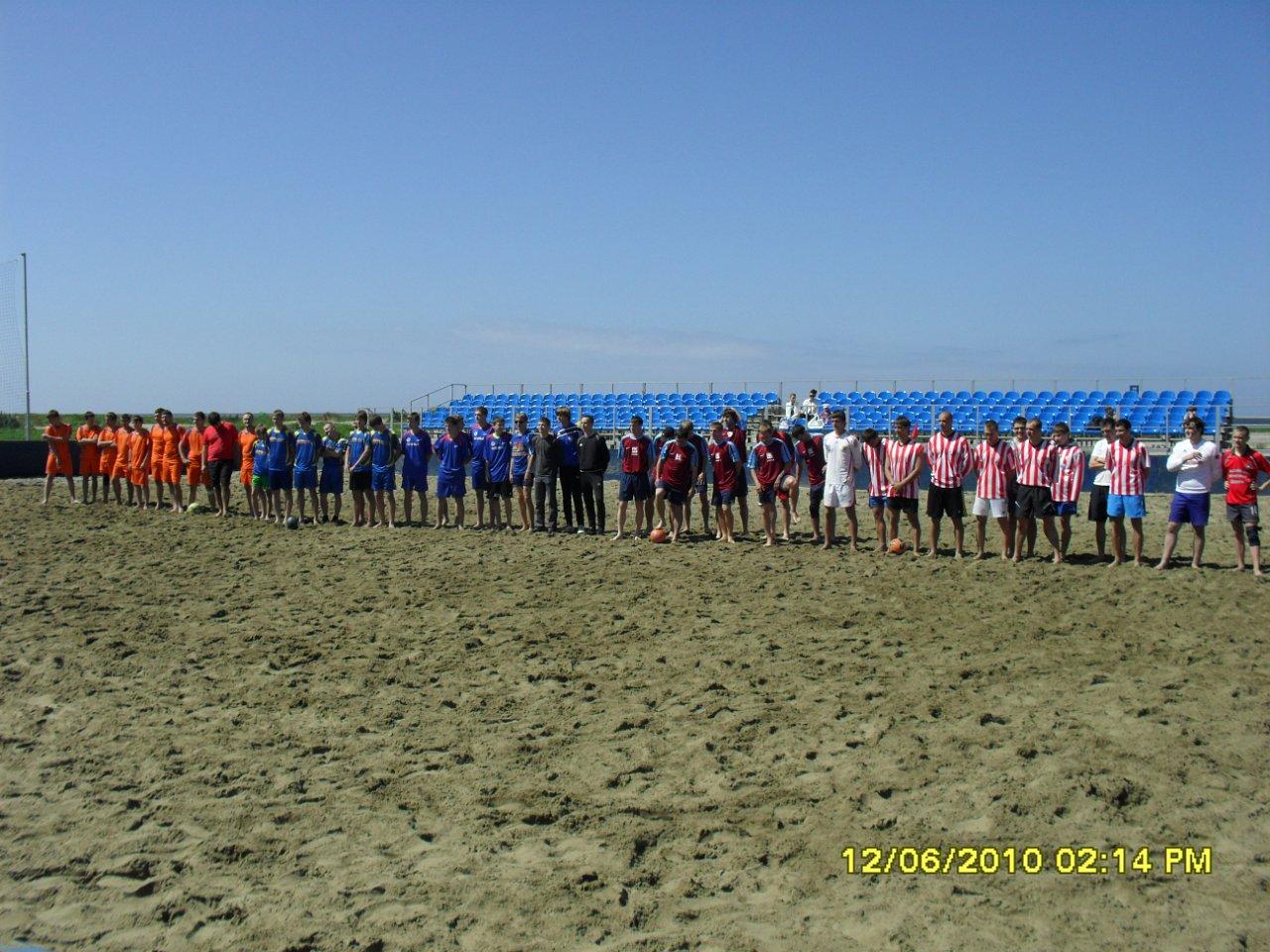 7-й Чемпионат Калининградской области по пляжному футболу.