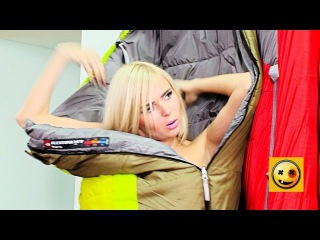 Sexy Sleeping Bag Surprise! - Collection of Gags