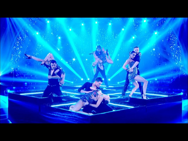Pro-dancers perform 'Rain' - Strictly Come Dancing: 2014 - BBC One