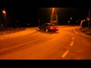 Volvo 740 Turbo Roundabout Drifting Donuts