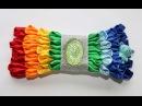 радужный бантик с советами (украшение на шапочку)/rainbow umbrella tips (decoration on the cap)