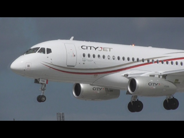 Cityjet | EI-FWA | Superjet 100-95B at Dublin Airport | 27062016