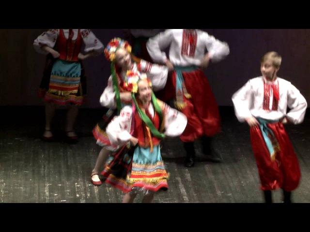 Украинский танец Гопак Студия народного танца Калинка г Барнаул