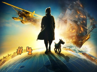 Прохождение Приключения Тинтина: Тайна Единорога часть 4