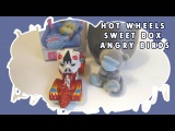 Open Hot Wheels and Sweet Box and Angry Birds STAR WARS