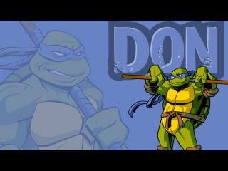 Черепашки Ниндзя: Донателло - Тренировка Додзё [TMNT 2003 Don Lvl.0]