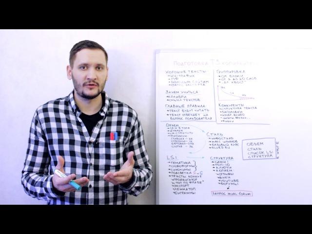 Подготовка ТЗ копирайтеру для лучшего SEO-текста