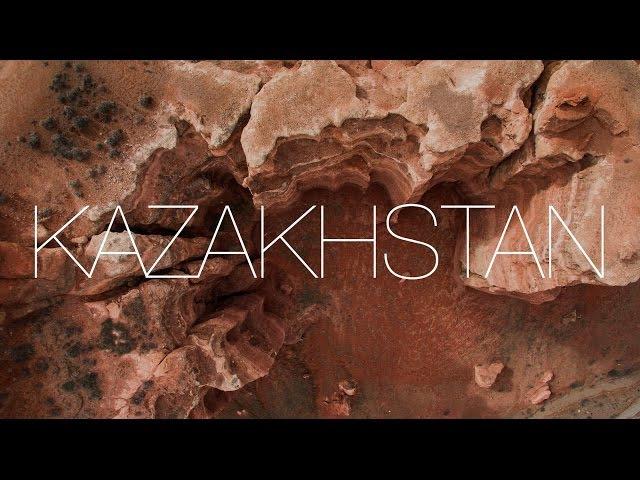 Amazing Flight Over Kazakhstan (4K)