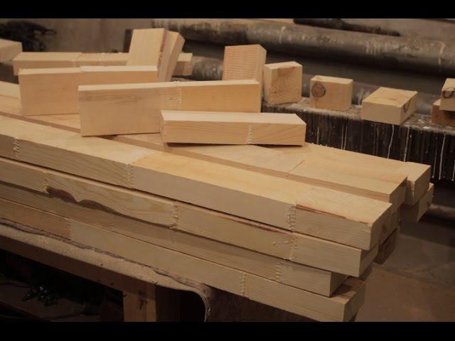 СРАЩИВАНИЕ по длине ч. 2 press for wood splicing