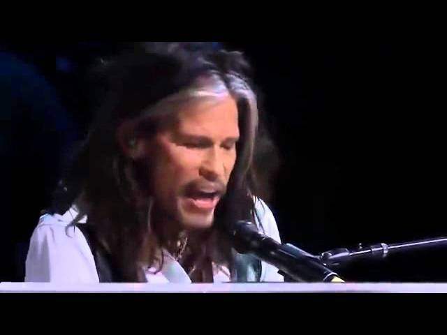 DREAM ON Steven Tyler e Slash 2014 Steven Tyler Brasil Facebook