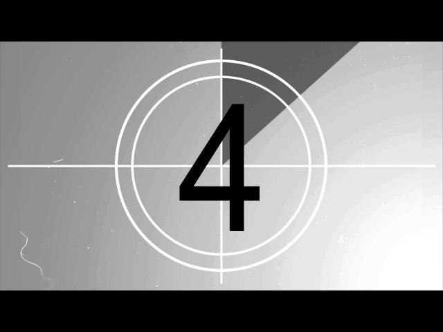 Футаж Отсчёт времени 4. Обратный отсчет. Таймер. 2017