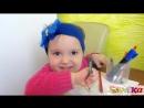 №3 Малышка Sonika 1год 8 мес рассказывает стих вместе с мамой Конкурс чтецов 2
