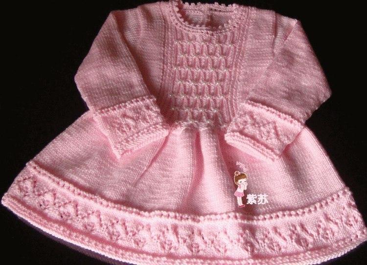 Вязание на спицах. для маленьких девочек 75