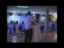 Вальс на свадьбе танцует дедушка с внучкой клево