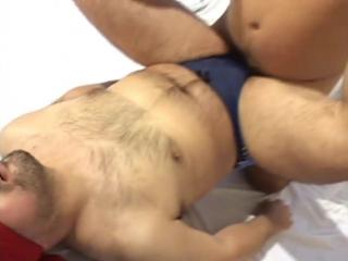 Gay - asian - bear - bull video - blv52  - 穴開き熊-bears with open holes