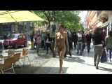 Antonia Nude in Public 3