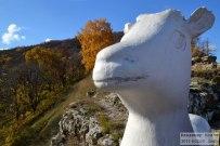 15 октября 2013 - Гора Могутовая осенью. Вид на Жигулёвск и карьер