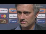 Interview with Jose Mourinho after the Champions League 0910 final match