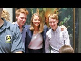 Jodie Foster Gets Her Star On The Hollywood Walk Of Fame