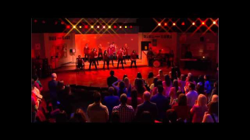 Glee - Somebody To Love (Oprah 07.04.2010) HD-720P