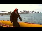 Патриарх всея Руси Кирилл посетил Антарктиду, остров Ватерлоу, пообшался с пингвинами