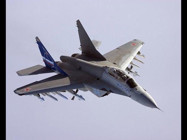 Они еще не очухались от Су-35, а Россия уже показывает новейший Миг 35 (4)