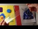 МК Переплёт №1 развивающая книжка с жёстким корешком боком Quiet book tutorial binding