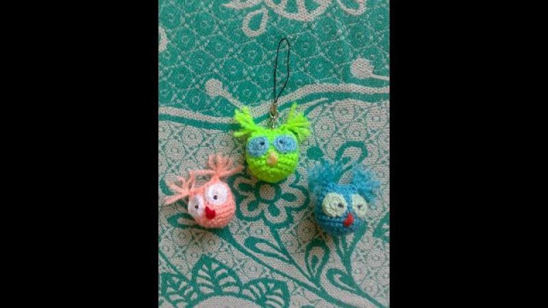 3d СОВА Сова крючком Амигуруми сова ►Crochet amigurumi Маленький совёнок Toy СОВА Амигуруми