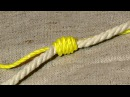 Узел ГВОЗДЬ для связывания лесок и верёвок.