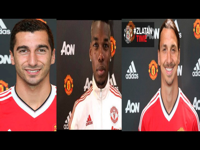 Mkhitarian ● Pogba ● Ibrahimovic | Welcome to Man Utd ● Skills and Goals | 2015-16