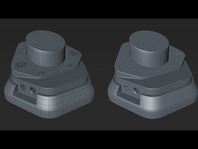 Cinema 4D Hard Surface Modeling Tutorial Part 2