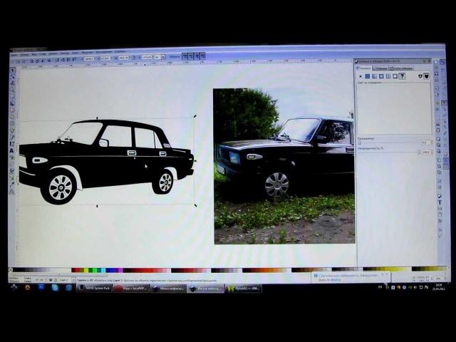 Маленький урок по рисованию в Inkscape